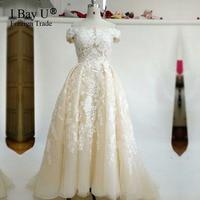 Echt 2017 Modest Arabisch Brautkleider Türkei Ballkleid Spitze Romantische Plus Größe Vintage Luxus Muslim Brautkleider Robe Mariage