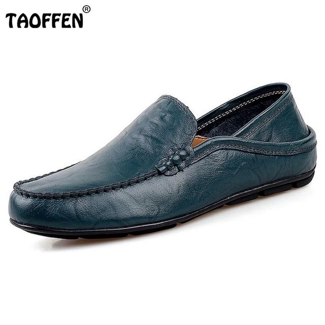 Los hombres de Cuero Genuino Oxford zapatos Planos Hechos A Mano Zapatos Casuales Para Hombres Slip-on Flat Vestido Mocasines Zapatos Hombre Tamaño 38-43 M0165