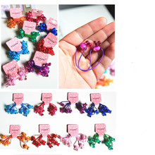 new fashion cute Cartoon bunny hair ring rope accessories for women girl children