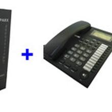 PBX/Mini PABX system SV308(3 линии+ 8 пользователей Ext) и 4 шт. телефонный набор-для soho businss решение