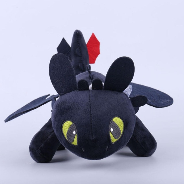 25cm-30cm Toothless Night Fury Plush How To Train Your Dragon plush toy doll 3