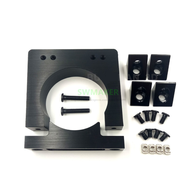 Openbuilds Router spindle mount kit 52mm 65mm 71mm 80mm diameter For Makita RT 0700C router CNC
