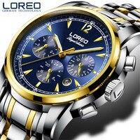 LOREOอัตโนมัติวิศวกรรมนาฬิกาตนเองคด