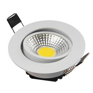 Image 2 - Сверхъяркий Светодиодный точечный светильник с регулируемой яркостью, точечный светильник с COB матрицей, 5 Вт, 7 Вт, 9 Вт, 12 Вт, Встраиваемый светодиодный точечный светильник, лампочки для внутреннего освещения