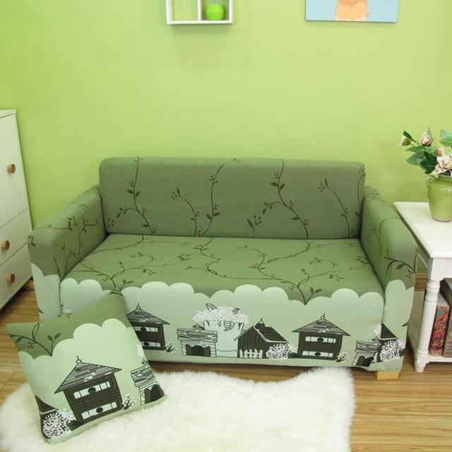 line Shop Hot Sale Printed Sofa Cover All inclusive Universal