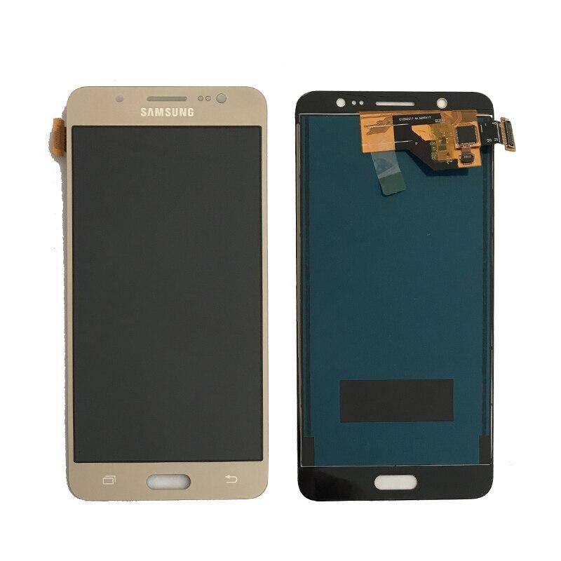 Brightness Adjustment For Samsung Galaxy J5 2016 SM-J510F J510FN J510M J510Y J510 LCD Display + Touch Screen Digitizer Assembly