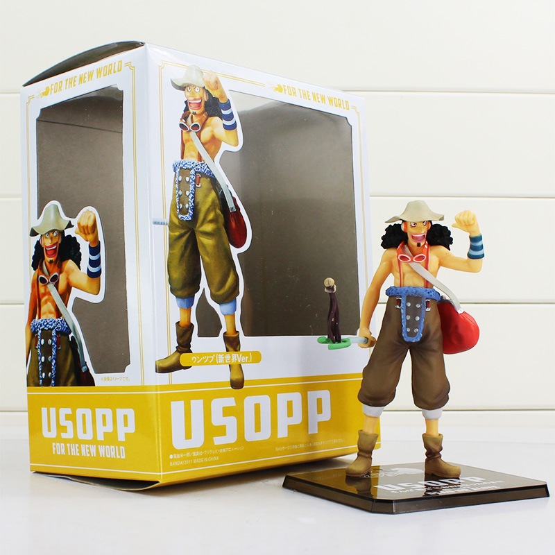1Pcs Retail Free Shipping Anime One Piece Two Years Later New World the Usopp Action Figures PVC Doll Toys Collection часы наручные casio часы casio mtd 1053d 1a