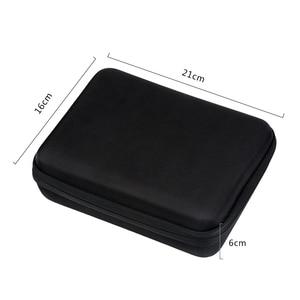 Image 4 - Atirar m/s tamanho eva caso portátil para gopro hero 9 8 7 5 sessão sjcam sj4000 para xiaomi yi 4k ação câmera coleção caixa de montagem