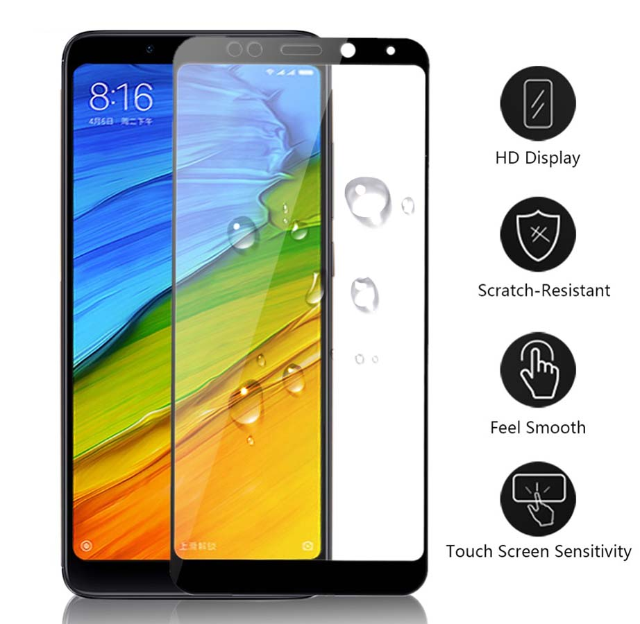 Protective Glass For Xiaomi <font><b>Redmi</b></font> <font><b>Note</b></font> 5 A <font><b>6</b></font> <font><b>Pro</b></font> Plus 5a A5 Prime Tempered Glas Screen Protector <font><b>Case</b></font> On Ksiomi Xaomi Xiomi Red image