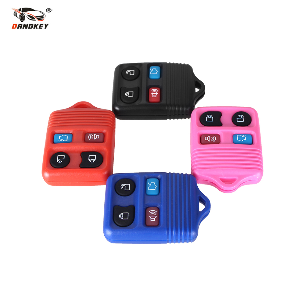 DANDKEY 4 Buttons Remote Key Transit Keyless Entry Fob For Ford Mustang Focus Lincoln LS Town Car Mercury Grand Marquis Sable