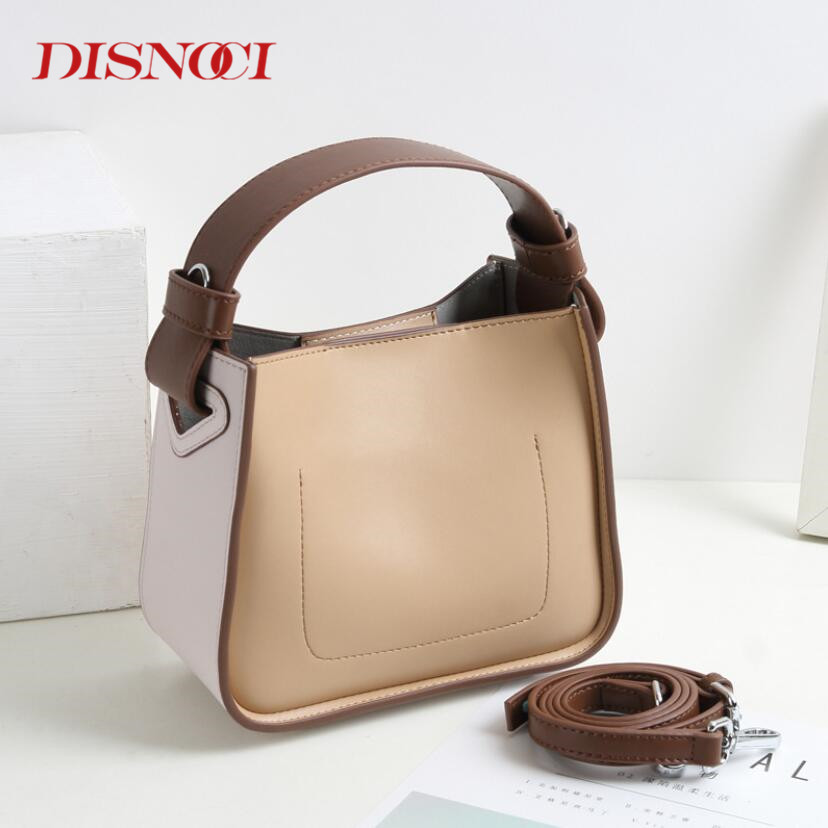 Women Handbags Colorful Bucket Bag Genuine Cow Leather Shoulder Bags Brand Design Ladies Crossbody Messenger BagsWomen Handbags Colorful Bucket Bag Genuine Cow Leather Shoulder Bags Brand Design Ladies Crossbody Messenger Bags