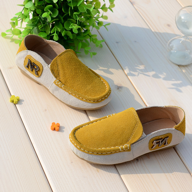 Cowhide-Suede-Children-Sneakers-Genuine-Leather-Boys-Loafers-shoes-Kids-Casual-shoes-Boys-moccasin-gommino-Free-shipping-3