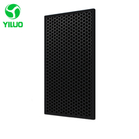 465*220*7mm deodorization filter and activated carbon filter of air purifier parts for F VXD50C etc