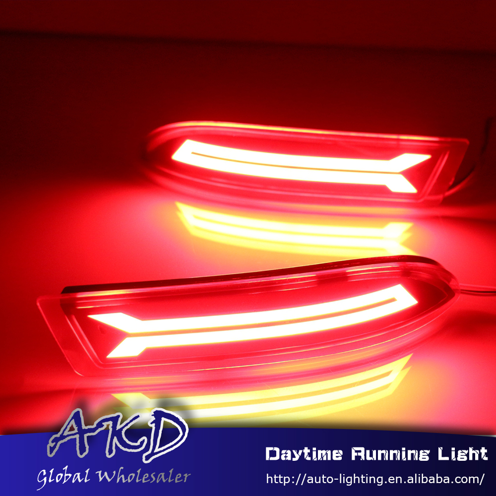 Reflector Avanza Brake-Lamp Rear-Bumper-Light Toyota for DRL Car-Styling New