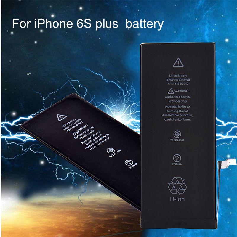 Lithium-Battery IPhone6s I6s-Plus 2750MAH For A1634/A1687/A1699 Built-In