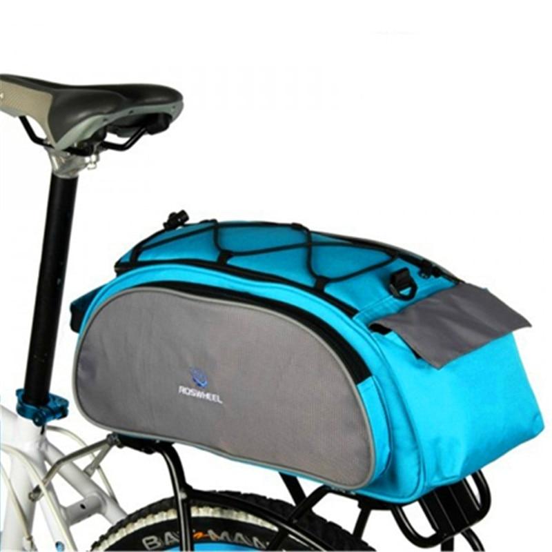 Riswheel Bike font b Bicycle b font font b Bags b font 13L Multifunction Bike Tail