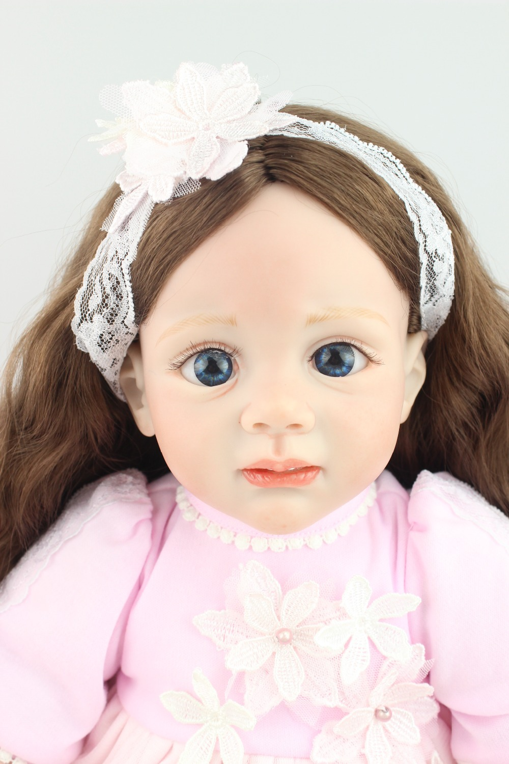 2015new design 24inch Reborn Toddler baby doll Fridolin rooted hair lifelike sweet girl real gentle touch2015new design 24inch Reborn Toddler baby doll Fridolin rooted hair lifelike sweet girl real gentle touch