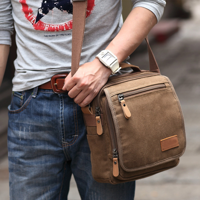 High Quality Men Canvas Bags Casual Travel Men's Crossbody Bag Luxury Designer Man Messenger Bags Shoulder Bag Male Bolsas A0347 2017 new men canvas chest bag pack casual crossbody sling messenger bags vintage male travel shoulder bag bolsas tranvel borse