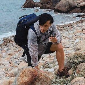 Image 5 - شاومي Mijia 5200mAh اسلكية تخاطب 2 IP65 مقاوم للماء والغبار واقية المحمولة في الهواء الطلق جهاز الإرسال والاستقبال اللاسلكي UVHF المزدوج الفرقة البيني