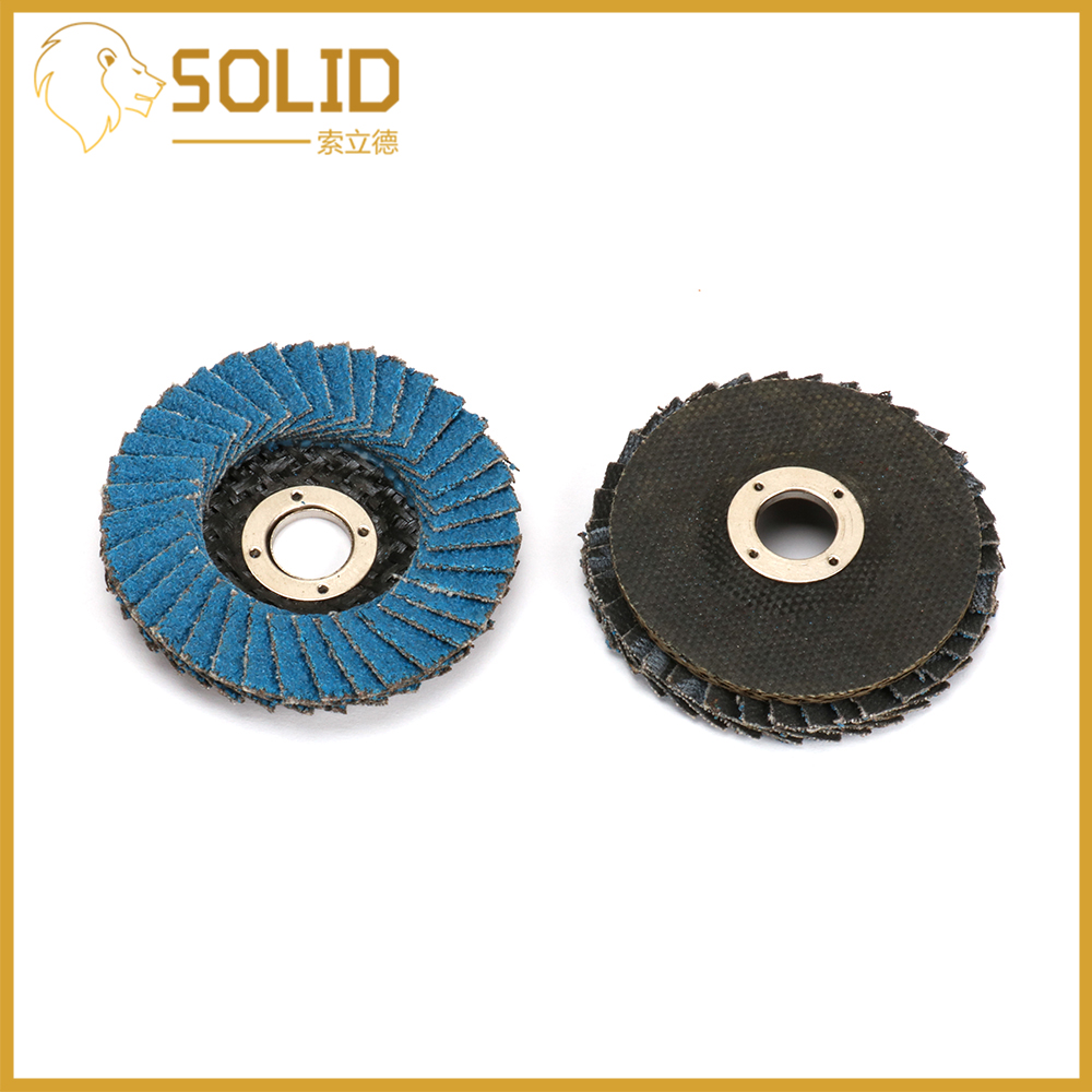 Flap Discs 50mm Sanding Discs 80Grit Grinding Wheels Blades For Angle Grinder Mesh Cover 2Inch 10Pcs Blue Particles