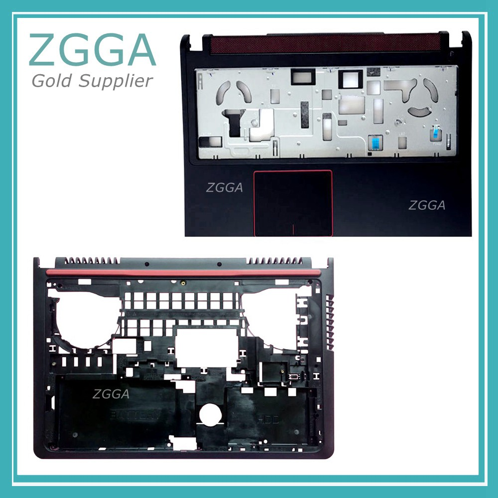 GENUINE NEW Laptop Palmrest&Base For Dell Inspiron 15 7000 7559 Upper Case Touchpad Bottom Cover Lower Case Shell 0Y5WDT T9X28