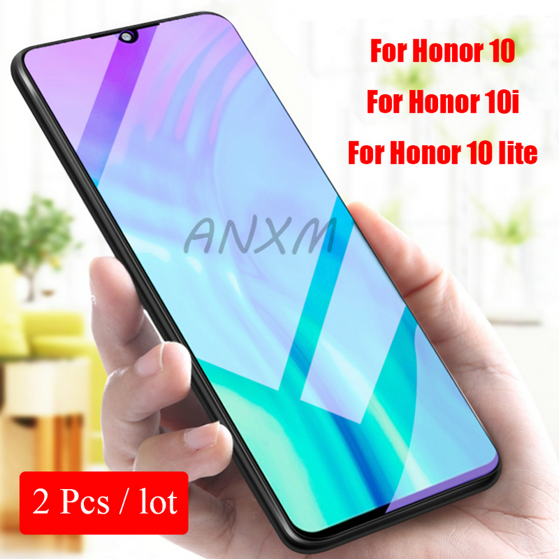 2Pcs 9H Tempered Glass For Huawei Honor 10i 10 lite Screen Protector On Phone Protective for Honor 10 lite 10i Tempered Glass-in Phone Screen Protectors from Cellphones & Telecommunications on