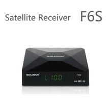 1 UNID F6S SOLOVOX Original Del Envío Libre Receptor de Satélite/TV Box Soporte 2 WEB USB TV Tarjeta de Intercambio NEWCAM Youporn