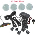 Monitor LED display Car Buzzer Parking Sensor Kit 4 Sensors Sound Alert Indicator 12V 44 Colors to choose Reverse Assistance