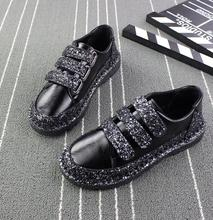 Sneakers Flats Bling Shoes Luxury Creepers PU27