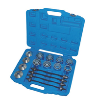 28pcs Master Press and Puller Sleeve Kit Bearings Bushes Seals Removal Tool car repair tool