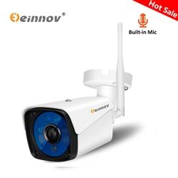 Einnov Audio Record 1080 P 2MP Wi-fi Cam IP Câmera de Vigilância de Vídeo Em Casa Segurança Sem Fio Ao Ar Livre HD Onvif IR À Prova D' Água CCTV