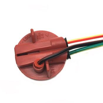 2X 1157 automobile brake lights Socket line bay15D rear light wiring base Lamp S25 1157 holder wire plug interface brighter led 4