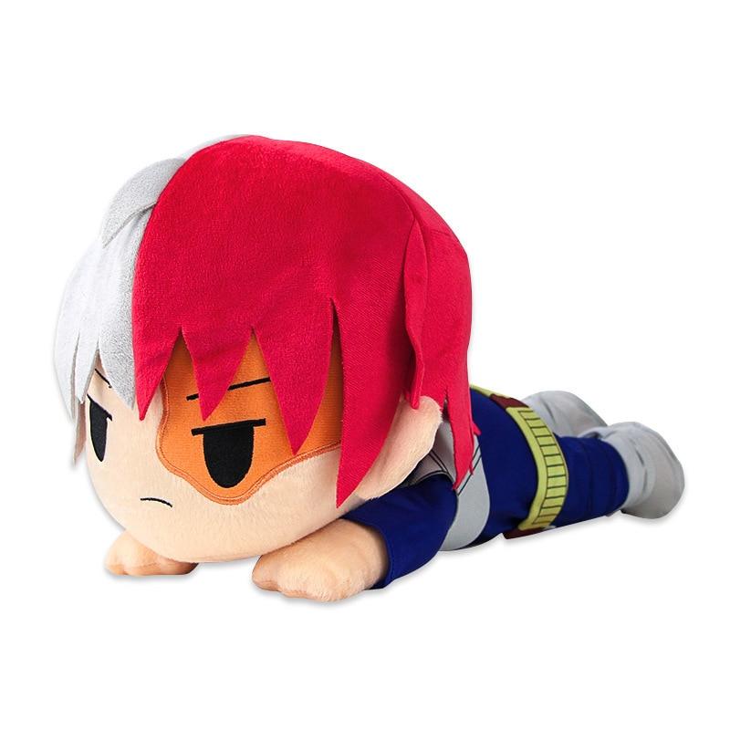 Meu herói academia anime boku nenhum herói yoh asakura katsuki bakugo shoto meu herói academia boneca brinquedos de pelúcia menina brinquedo macio presente