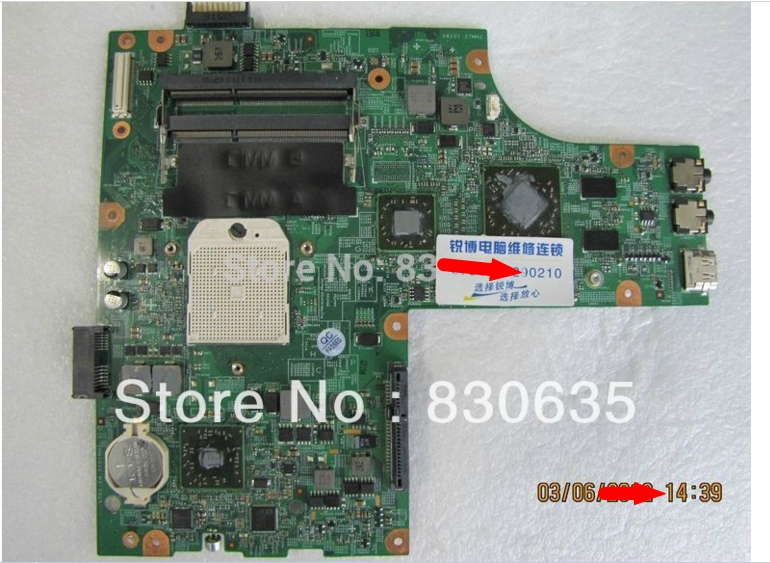 M5010 connect with printer motherboard tested by system lap connect board