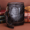 CONTACT'S Fashion Echtes Leder Schulter Tasche Männer Umhängetaschen Kleine Über-die-schulter Messenger Taschen Luxus Männlichen Reise tasche