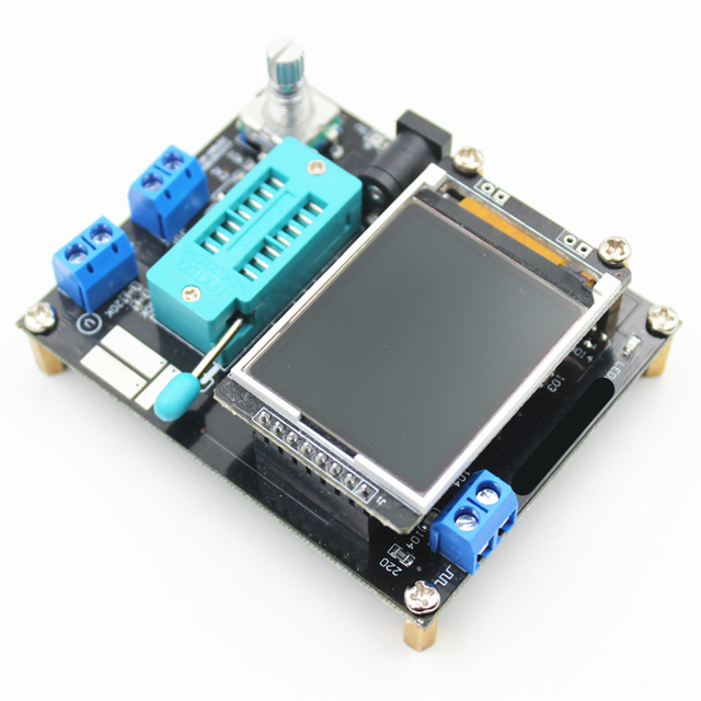 Multi-purpose transistor tester with color display 3