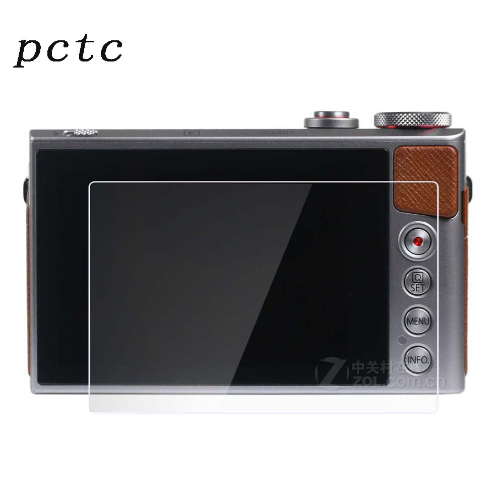 PCTC for Canon Powershot G9X G7X Tempred Glass 0.3mm 2.5D radian anti- fingerprint scratch-resistant Camera screen protector