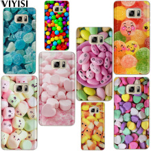 VIYISI Phone Case For Samsung Galaxy S8 S9 Plus Colored Candy Cover J7 J5 J3 A5 A3 2015 2016 2017 S6 S7 Edge Coque Shell