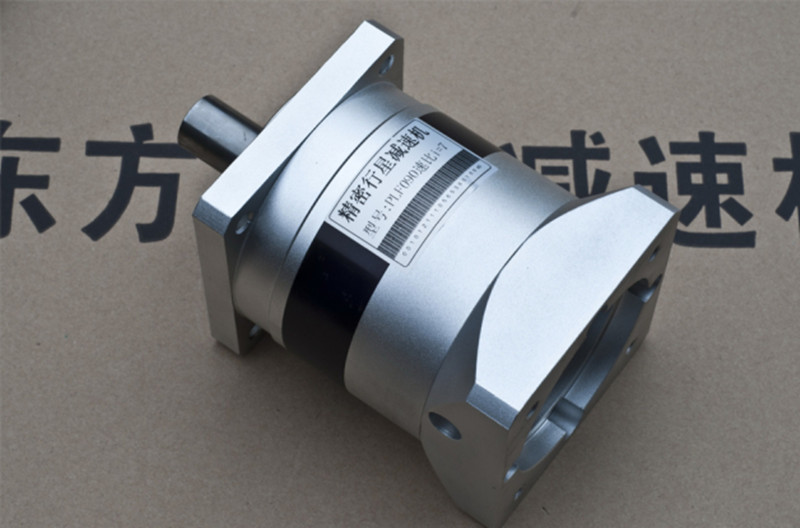 Planetary reducer Gearbox 28:1 Reduction ratio for NEMA34 12.7MM shaft stepper motor 7arcmin PLF090-L2-28-S2-P2 nema23 geared stepping motor ratio 50 1 planetary gear stepper motor l76mm 3a 1 8nm 4leads for cnc router