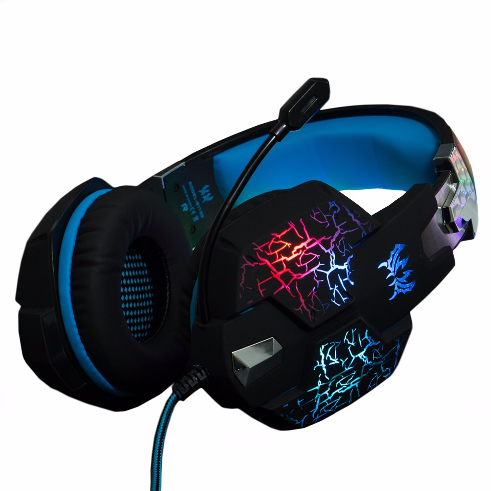 KOTION EACH Gaming Headset Headphone Vibration Function Deep