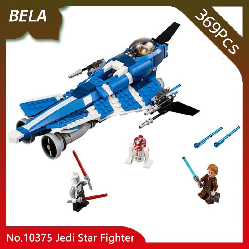 Bela 10375 369pcs Star Series Wars Jedi Star Fighter Building Blocks Bricks Children Favourite Toys For Gifts Compatible 75087