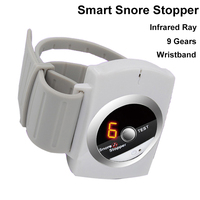 Smart Snore Snoring Stopper Biosensor Wristband Infrared Ray Detects Anti Snoring Device Intelligent Sleeping Aid Rechargeable
