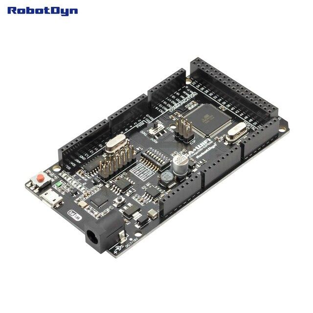 Mega +WiFi R3 ATmega2560+ESP8266 (32Mb memory),USB-TTL CH340G. Compatible for Arduino Mega, NodeMCU, WeMos ESP8266