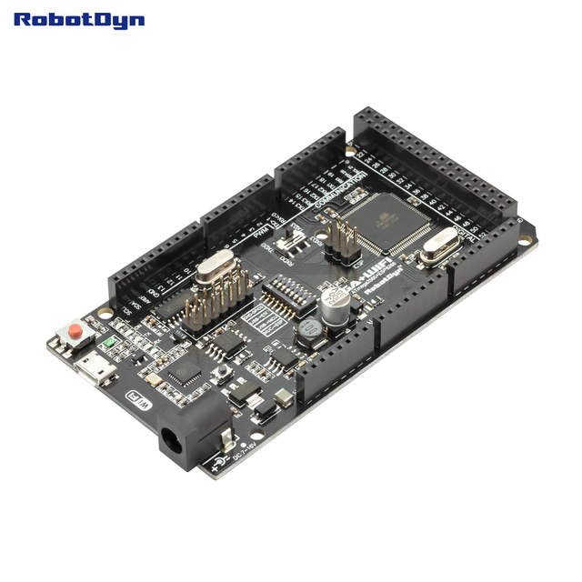 Мега + WiFi R3 ATmega2560 + ESP8266 (32 Мб памяти), USB-TTL CH340G. Совместимость для Arduino Mega, NodeMCU, WeMos ESP8266