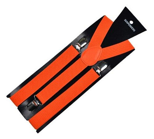 More Color For Choose New Mens Womens Unisex Clip-on Suspenders Elastic Y-Shape Adjustable Braces Colorful- 0055 23