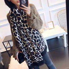 94cee739e01a Femmes de hiver écharpes de luxe imitation cachemire pashmina longue châles  imprimé léopard conception chaud echarpes