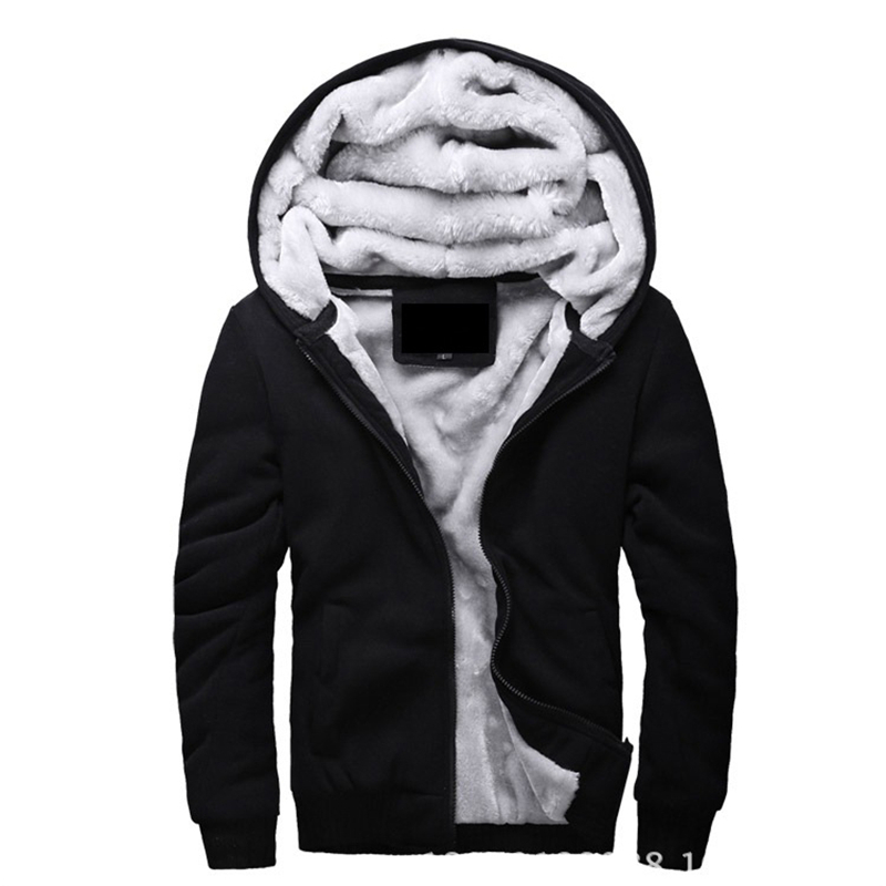 Jackets & Coats Men's Clothing 2019 New Jacket Men Thick Overcoat Winter Warm Mens Jackets And Coats Casual Hoodies Solid Homme Brand Clothing 4xl 5xl Fine Quality