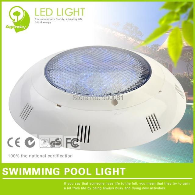 9w Swimming Pool Led Lights 12 Volt Pvc Led Rgb Underwater