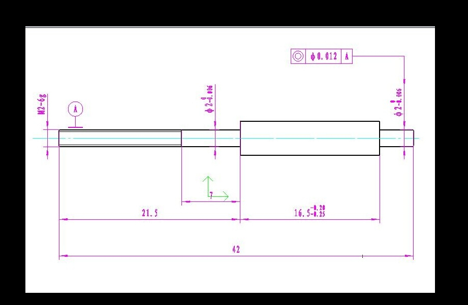Material : Stainless Steel   3#42     100 Pcs,   Maximum Diameter 3.0mm     M2 Thread