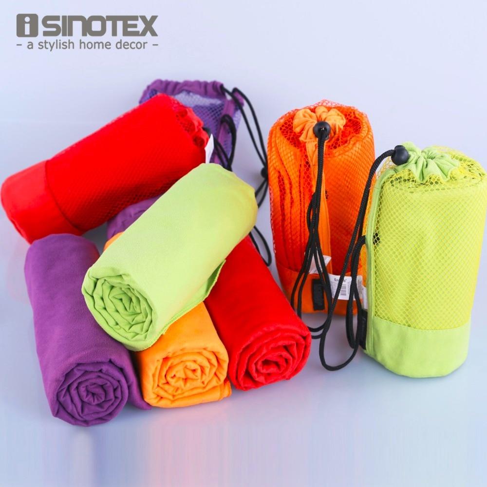 Sports Towel With Bag 70x130cm Larger Size Microfiber toalha de esportes Swimming Travel Gym Towel